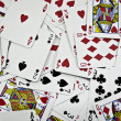 Background from playing cards — Stock Photo #1600646