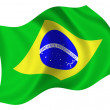 Royalty-Free Stock Photo: Flag of Brazil