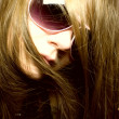 Portrait of young woman in sunglasses — Stock Photo #1603664