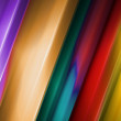 Abstract background with colour strips - Foto Stock