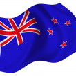 Flag of New Zealand — Stock Photo #1604268