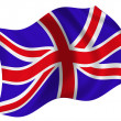 Flag of United Kingdom — Stock Photo #1604847