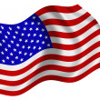 Foto Stock: Flag of the United States of America