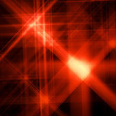 Abstract background with a shone red sta — Stock Photo