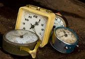 çoklu alarmlar — Stok fotoğraf