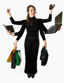 Woman resources — Stock Photo