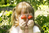 Strawberry Fun — Stock Photo