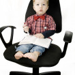 Baby-Boss — Stock Photo