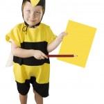 abeja miel — Foto de Stock