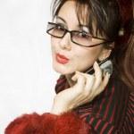 Attractive businesswoman — Stock Photo #1607401