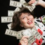 moje peníze — Stock fotografie