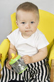 Pint baby — Stock Photo