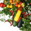 Vegetable still life - Stock Photo