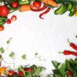 Frame Vegetables — Stock Photo #1611123