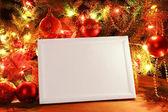 Christmas lights ram — Stockfoto