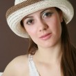 Woman in hat — Stock Photo #1626566