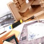 Workplace of designer — Stock Photo #1698156