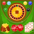 Casino elements — Vector de stock #1581837
