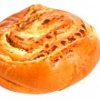 Bun baked with cheese - Stock Photo