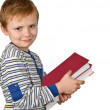 Boy with books — Stock Photo #1592779
