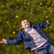 Boy on the grass — Stock Photo #1592957