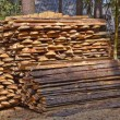 Foto de Stock  : Pile of wood