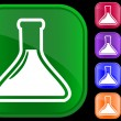Icon of medical vial — Image vectorielle
