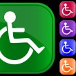 Vector de stock : Handicap icon