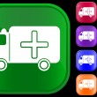 Royalty-Free Stock Vector Image: Medical ambulance icon