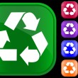 Recycling symbol — Vettoriali Stock