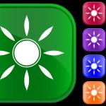 Sun symbol — Stock Vector #1613487