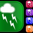 Royalty-Free Stock Vector Image: Icon of storm