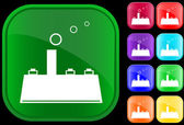 Icon of factory — Stock Vector