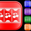 Icon of slot machine — 图库矢量图片 #1620113