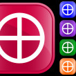 Medicine Wheel icon — Wektor stockowy #1620124