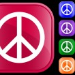 Royalty-Free Stock Vectorielle: Peace symbol