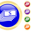 Icon of money — Imagen vectorial