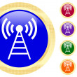 Antenna icon — Image vectorielle