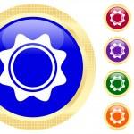 Sun symbol — Stock Vector #1620455