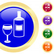 Royalty-Free Stock Vector Image: Icon of wine