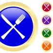 Icon of knife and fork — Stock Vector #1620526