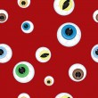 Halloween background Eyes — Stock vektor