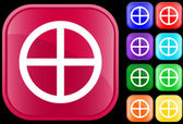 Medicine Wheel icon — Wektor stockowy