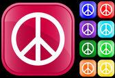 Peace symbol — Stock Vector