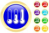 Ikonę termometr — Wektor stockowy