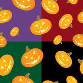 Halloween background Pumpkins — Stock Vector