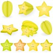 Carambola — Vector de stock #1643411