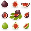 Figs — Stock Vector