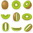 Royalty-Free Stock Vector Image: Kiwi
