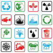Icon set Environment — Stockvector